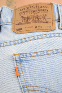 90s LEVI ORANGE TAB SHORTS - 29""