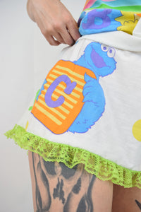 HANDMADE by me KIDCORE MINI DRESS - SMALL