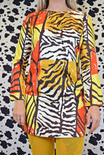 60s PSYCHEDELIC SAFARI MINI - MEDIUM