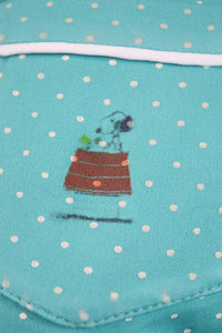70s SNOOPY BLOUSE - MEDIUM