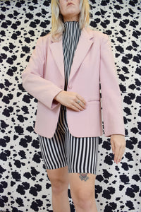 70s DUSTRY ROSE BLAZER - SMALL