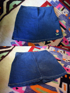 90S FLOWER PATCH SKORT
