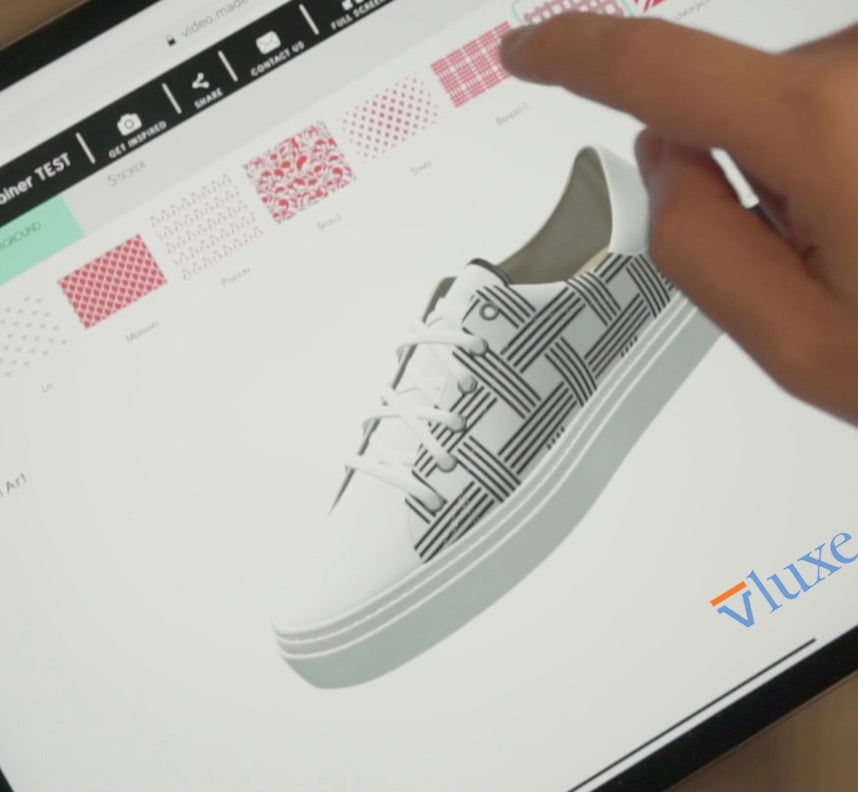 Introducing Stencil Art on Vluxe Shoes
