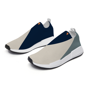 Block Blues Slip On Lightweight Sneakers from Vluxe by Lucky Nahum