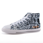 WIRED High-top fashion canvas shoes
