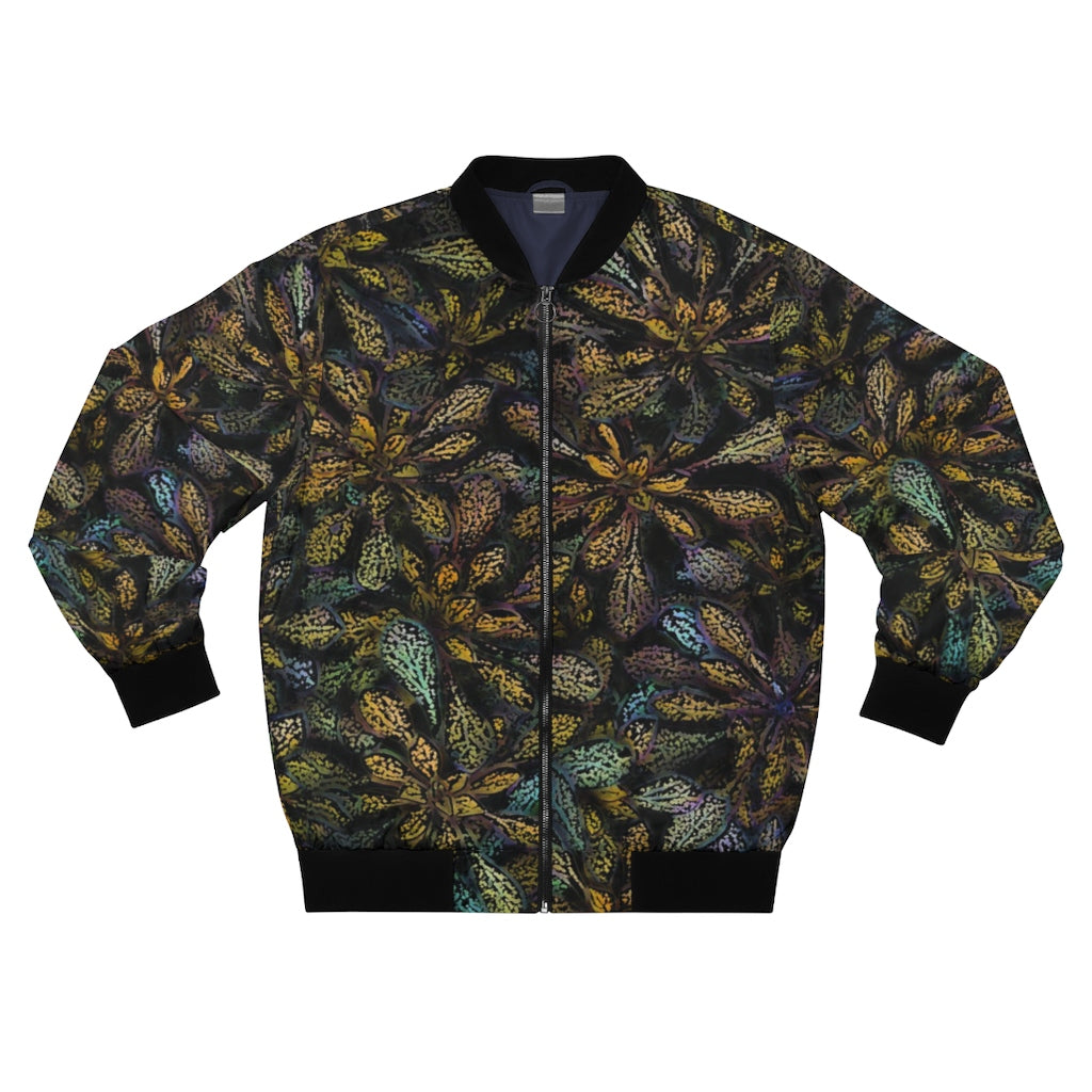 Desert Bloom Men's AOP Bomber Jacket
