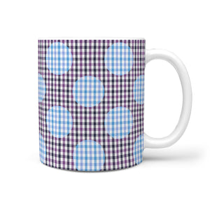 SARTORIALLY DOTTED MUGiT PURPLE