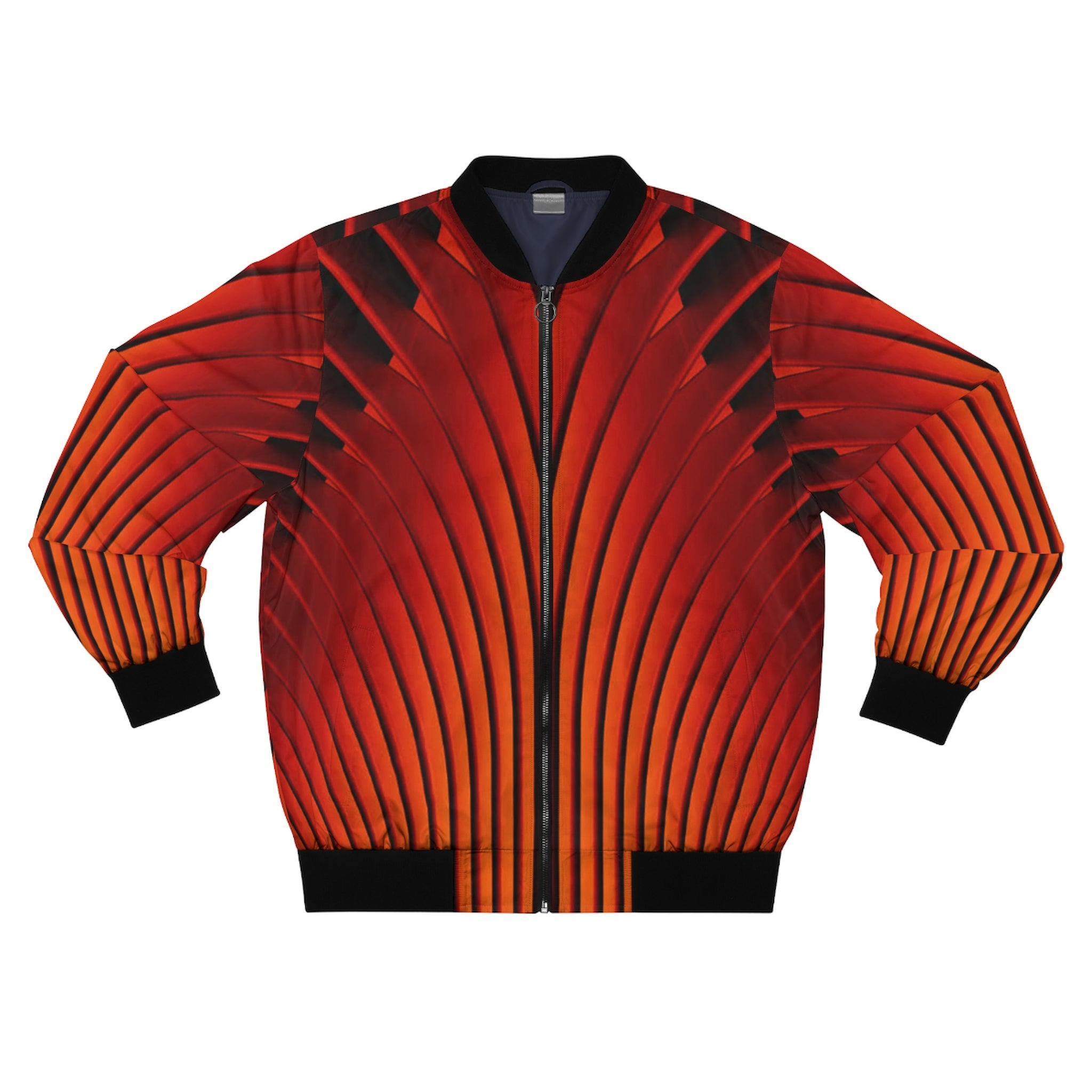 Racin' Fire Men's AOP Bomber Jacket