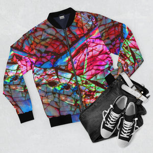 Stain Glass Men's AOP Bomber Jacket