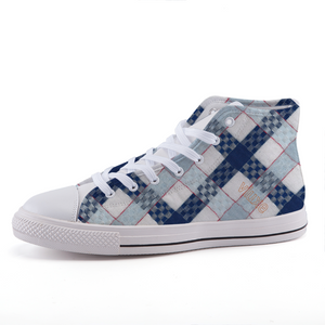 DUBBO High-top fashion canvas shoes