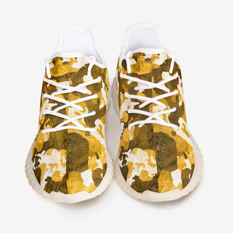 V Camo Orange Unisex Comfort Shoes YZ