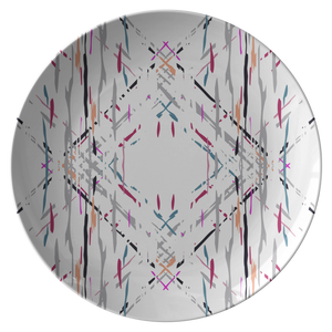 Barcelona Dinner Plate from Vluxe by Lucky Nahum