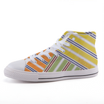 BAHAMA MIX HIGH-TOP Printed fashion canvas sneakers
