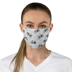Bicycle Double Layer Fabric Face Mask