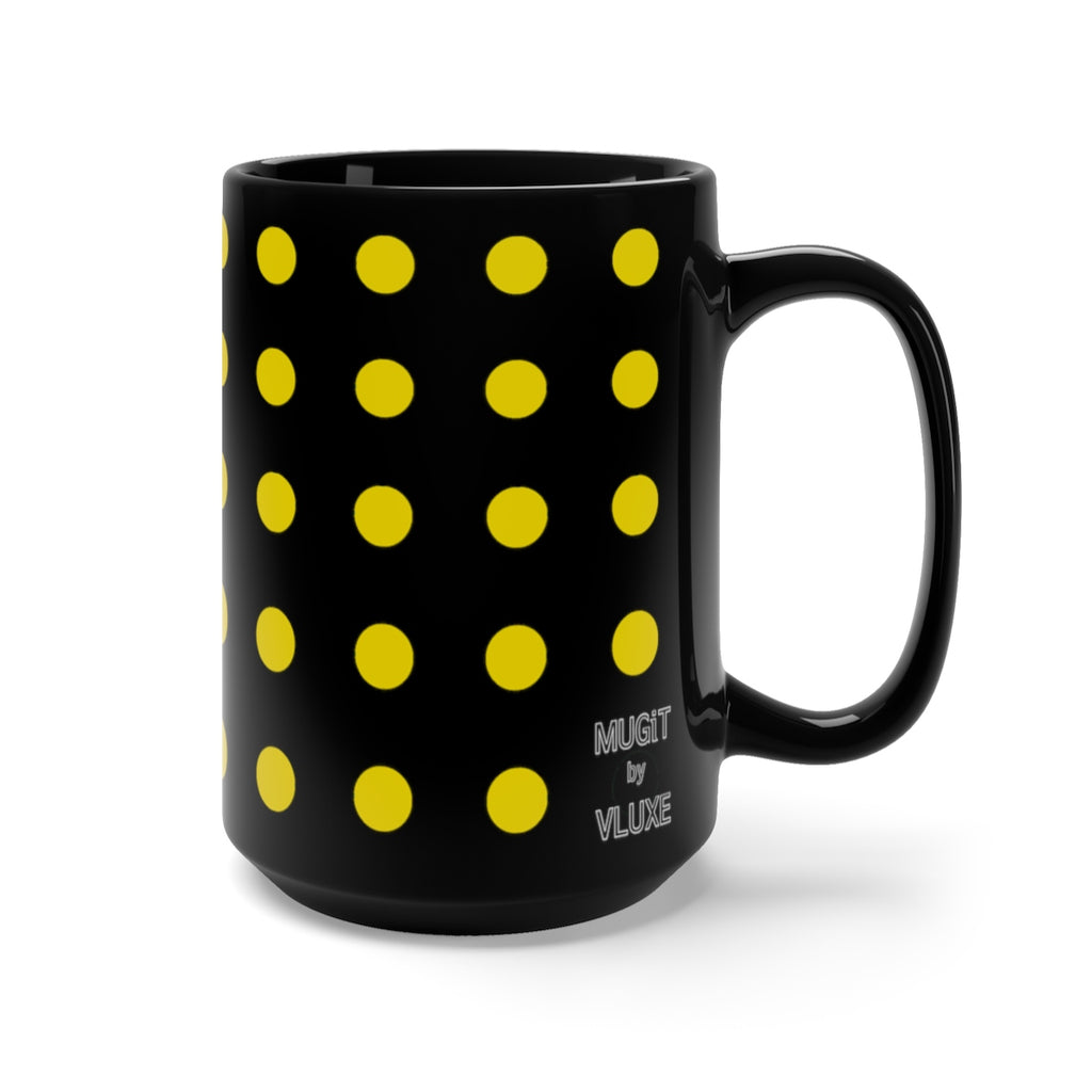 DaDOT .004 MUGiT Yellow Black Mug 15oz