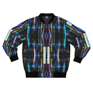 Light Shards Men's AOP Bomber Jacket