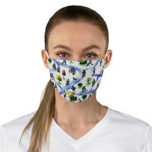 In The Park Double Layer Fabric Face Mask