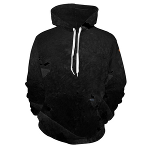 Fango Black Hoodie with Pockets from Vluxe by Lucky Nahum