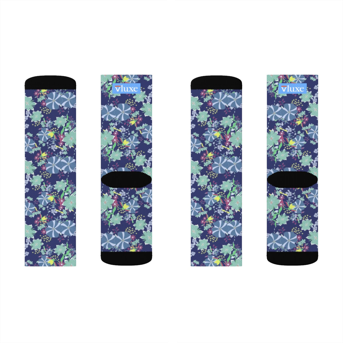 Floral Paradise Sublimation Socks