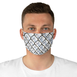 Fenced Double Layer Fabric Face Mask