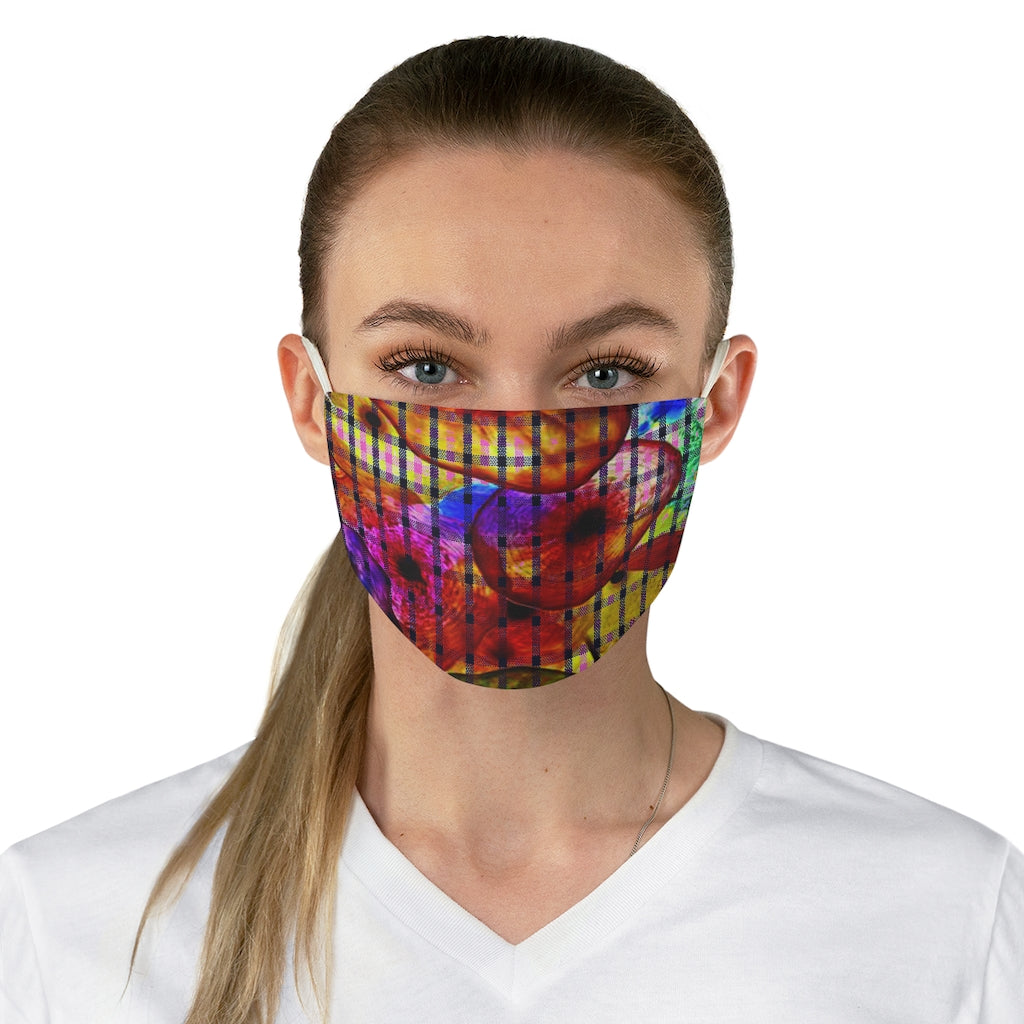 Vegas Double Layer Fabric Face Mask