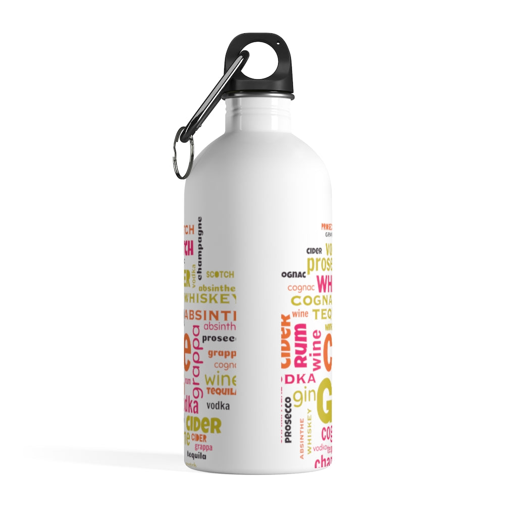 It's Only Water Stainless Steel Water Bottle