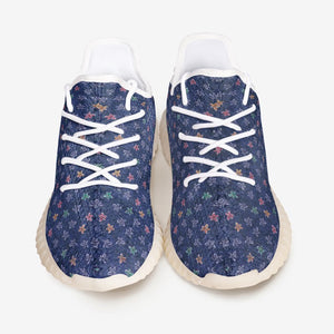 Flower Bed Unisex Lightweight YZ Comfort Shoes