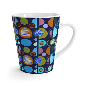 Jetsons Navy  Latte Mug from Vluxe by Lucky Nahum