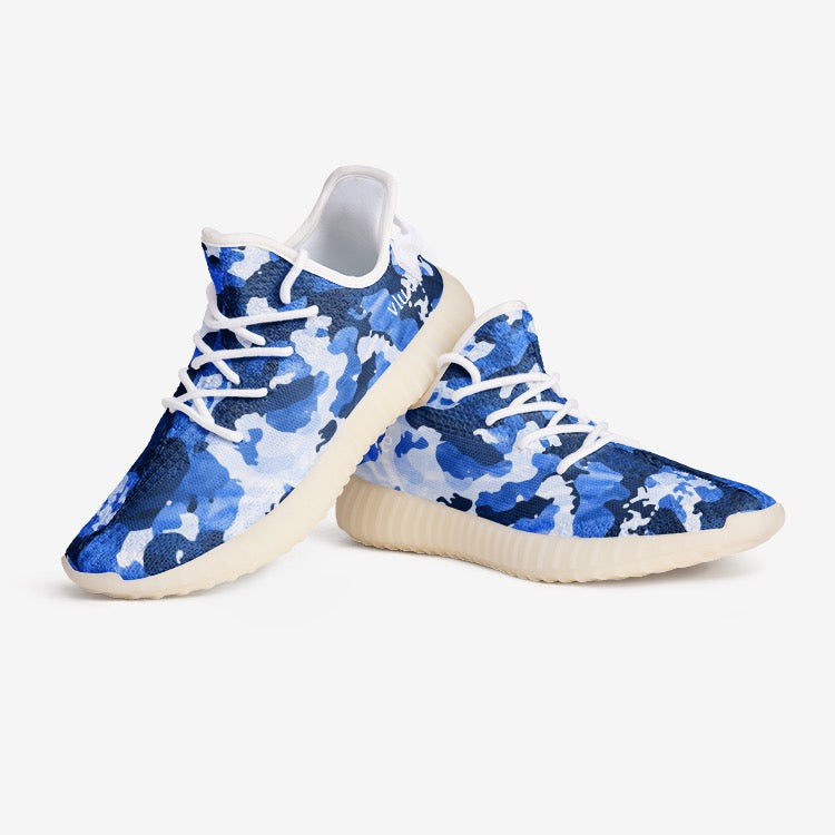 V Camo Blue Unisex Comfort Shoes YZ