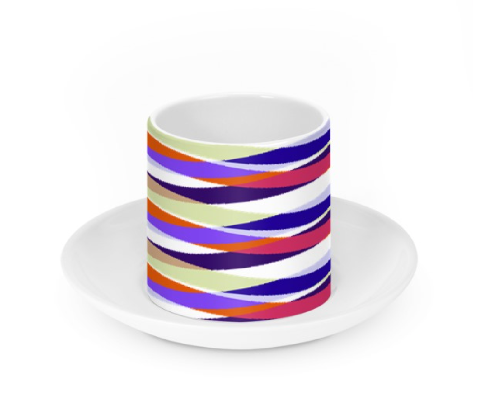 Oslo Espresso Cup and Saucer