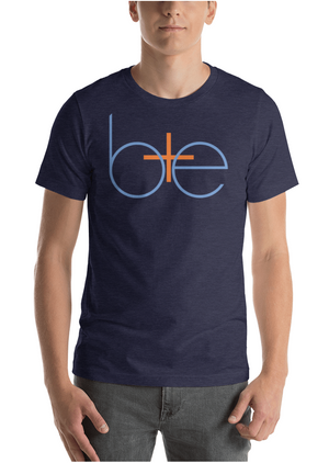 Be Positive Always Short-Sleeve Unisex Crew Tee