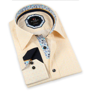 Emelio Lemon Long Sleeve Print Shirt