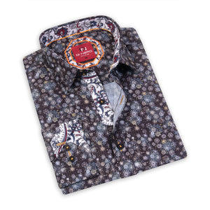 Frost Moonless DiNero Red Printed Shirt