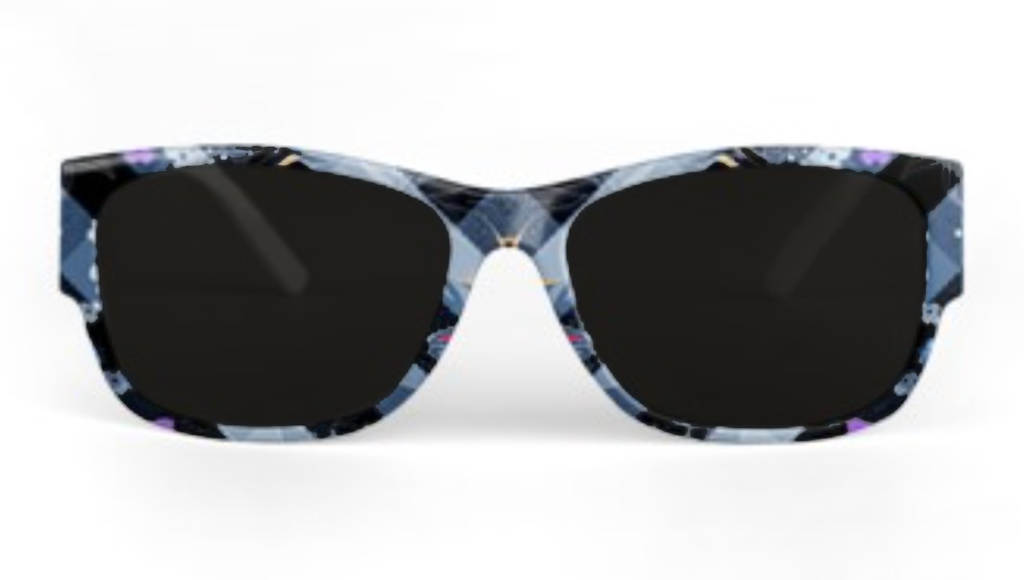 Diamond Blue Sunglasses
