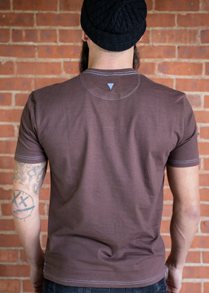 Vluxe Base Tee Crew VLK500 Coffee