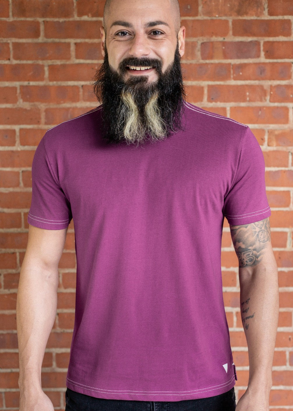 Vluxe Base Tee Crew VLK500 Grape