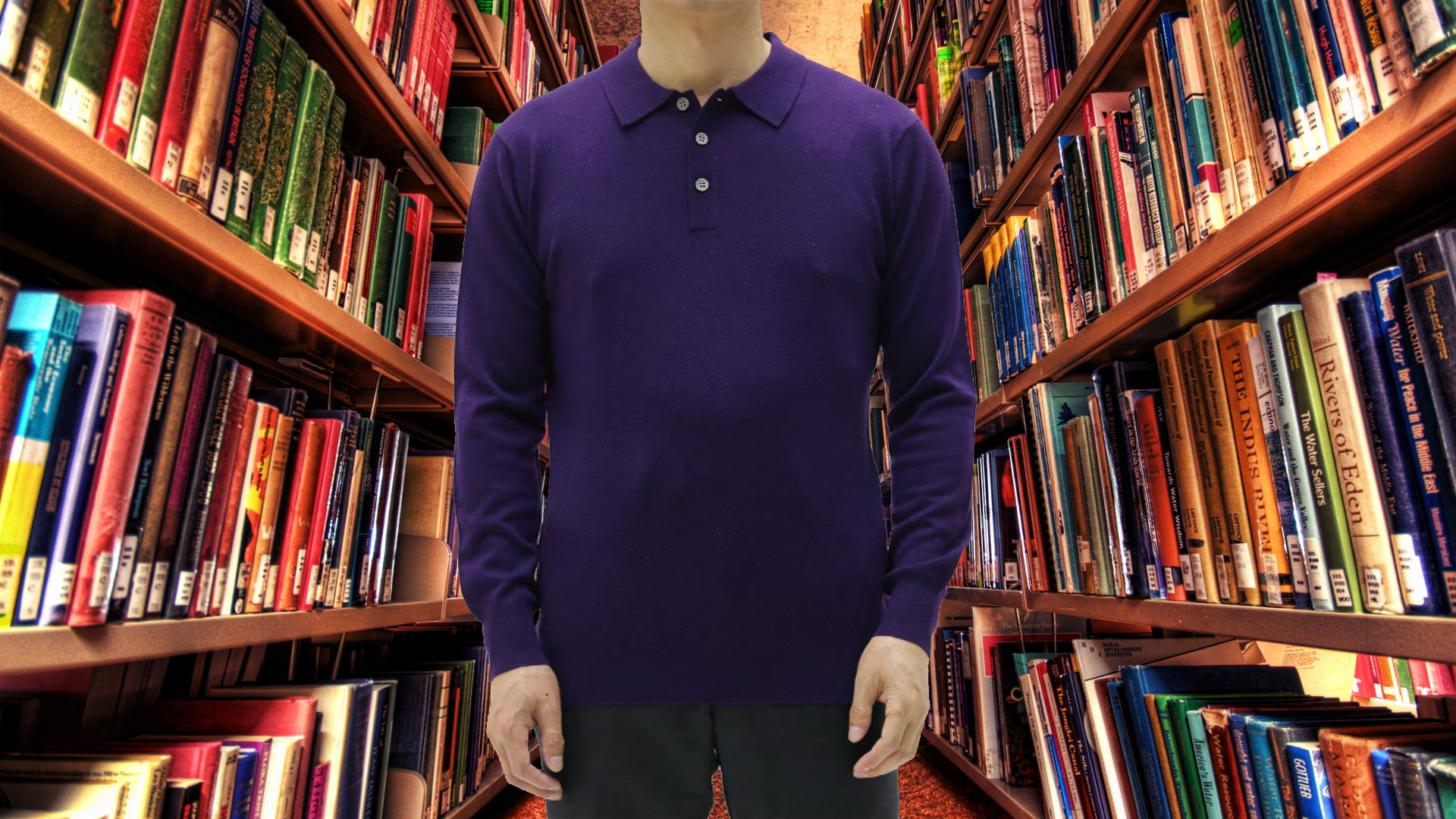 Vluxe Custom Knit Classic Polo
