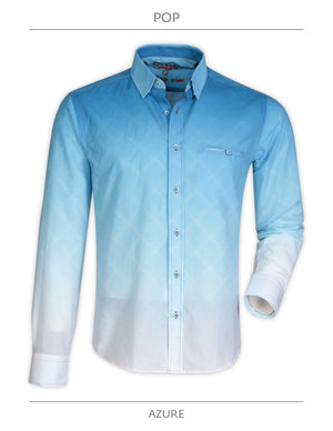 Pop Azure Sugar Long Sleeve Shirt