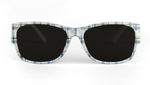 Sartorial Dirty Plaid Sunglasses