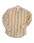 Split Directional Multi Stripe Shirt VL715