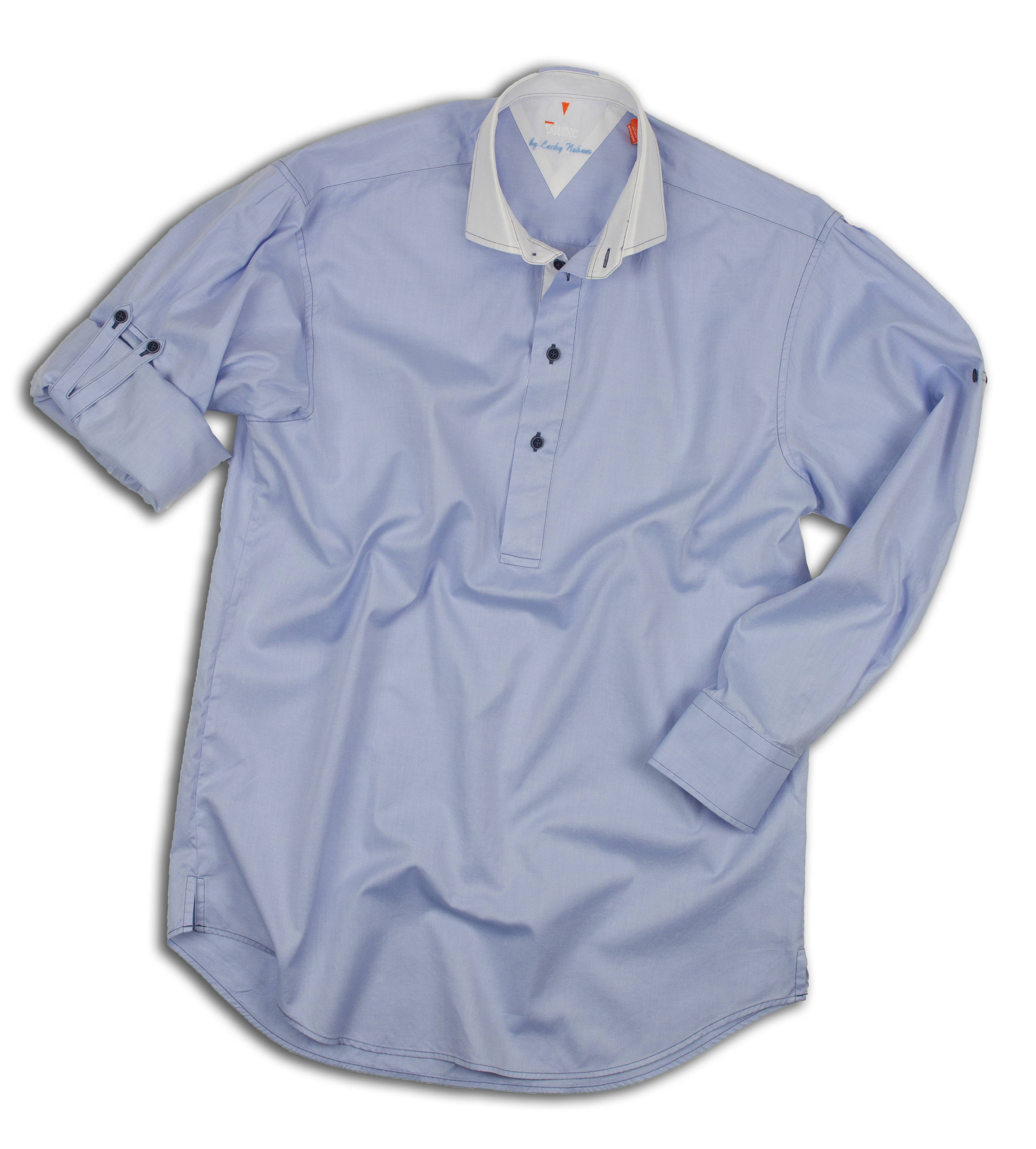 The Pop-Over Button Up Shirt