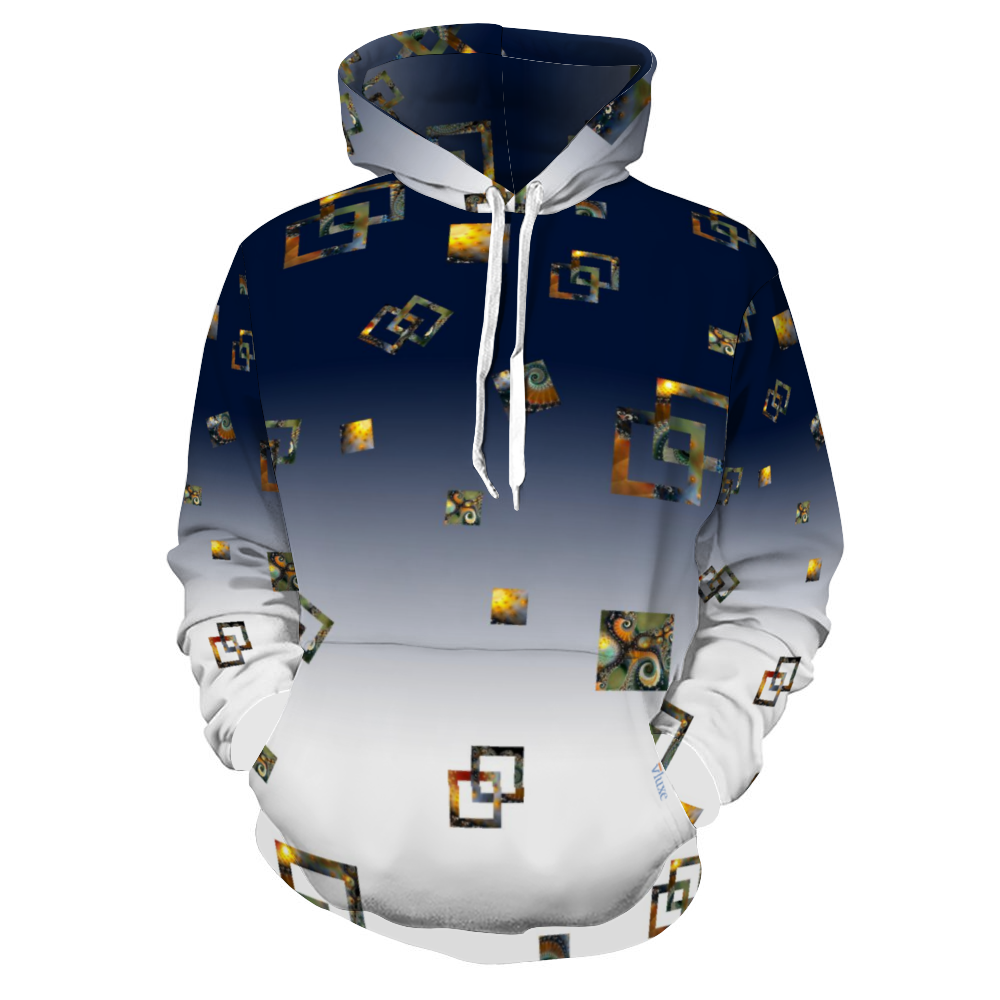 Dusk All Over Print Hoodie with Pockets from Vluxe by Lucky Nahum