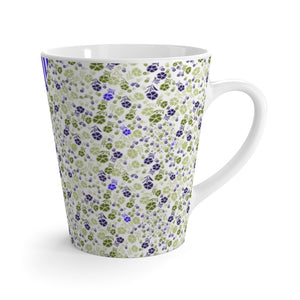 Athens Multi Lime Latte Mug