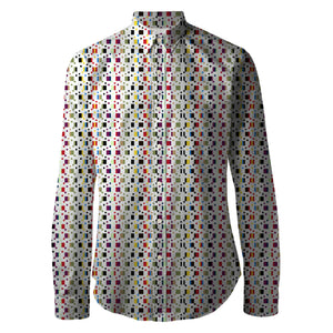 Connor Multi Printed Unisex Shirt