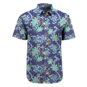 Floral Paradise Short Sleeve Printed Shirt