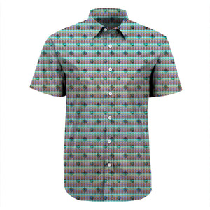 Aqua and Friends Short Sleeve Shirt