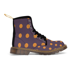 Dotted Men's Vluxe Canvas Boots