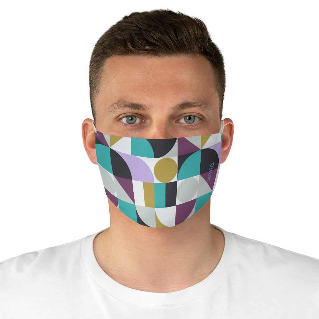 Malibu Double Layer Fabric Face Mask