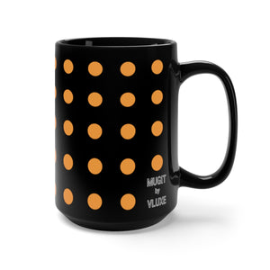 DaDOT .004 MUGiT Orange on Black Mug 15oz