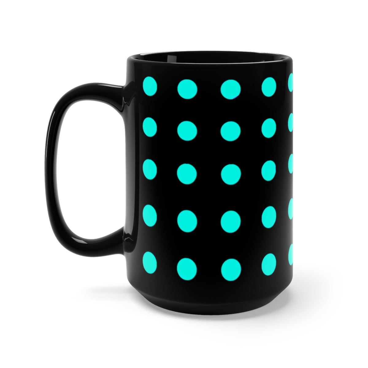 DaDOT .004 MUGiT Acqua Black Mug 15oz